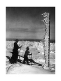 Cross-Country Skiing at the Jizera Mountains, 1935 Photographic Print by  Scherl