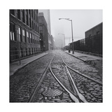 Brooklyn Trolley Tracks Photographic Print by Henri Silberman