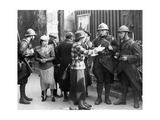 French Soldiers During the Sudeten Crisis in Paris, 1938 Photographic Print by  SZ Photo