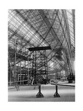 "Skeleton Structure of the Zeppelin Lz129 ""Hindenburg"", 1933 Photographic Print by  Scherl"