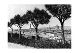 View on the City of Florence Photographic Print by  Scherl