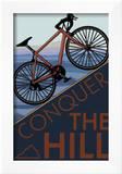 Conquer the Hill - Mountain Bike Prints