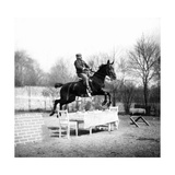 Jump over a Table, 1907 Photographic Print by  SZ Photo