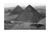 Egyptian Pyramids, 1930S Photographic Print by  SZ Photo