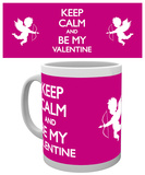 Valentines - Keep Calm Mug Mugg