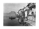 Gandria at the Lake Lugano Photographic Print by  Scherl