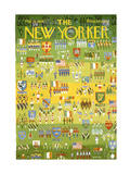 The New Yorker Cover - March 15, 1969 Regular Giclee Print by Anatol Kovarsky