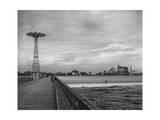 Parachute Jump, Coney Island Photographic Print by Henri Silberman