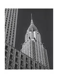Chrysler Building from Street Photographic Print by Henri Silberman