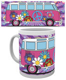 VW - Camper Hippy Mug - Mug