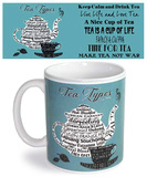 Type Tea Mug Becher