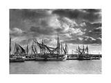 Fischereihafen von Sassnitz auf Rügen, 1938 Photographic Print by  Süddeutsche Zeitung Photo