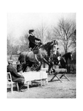 Rider Jumps over a Table, 1907 Photographic Print by  SZ Photo