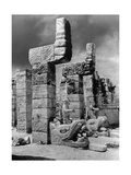 Temple in Chichen Itza, 1925 Photographic Print by  Scherl