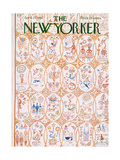 The New Yorker Cover - April 21, 1962 Regular Giclee Print by Anatol Kovarsky