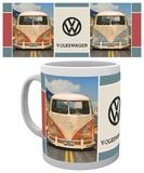 VW - Beetle Grid Mug - Mug
