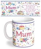 Mum Mug Taza