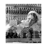 Show Box of a Butcher Shop, 1936 Photographic Print by  Scherl