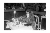 Table Telephone in the Dance Palace, 1929 Photographic Print by  Scherl