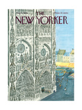 The New Yorker Cover - August 13, 1966 Premium Giclee Print by Anatol Kovarsky