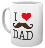 Father's Day - I Love Dad Mug Becher