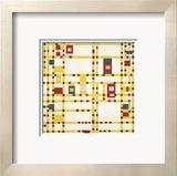 Piet Mondrian - Broadway Boogie Woogie - Reprodüksiyon