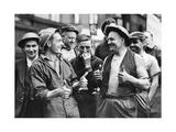 Britische Feuerwehrleute, 1940 Photographic Print by  SZ Photo