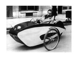 Frenchman in a Pedal Car, 1941 Photographic Print by  SZ Photo