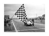 Hermann Paul Müller gewinnt den Grand-Prix von Frankreich, 1939 Photographic Print by  Süddeutsche Zeitung Photo