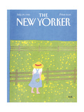 The New Yorker Cover - July 29, 1985 Regular Giclee Print by Heidi Goennel