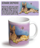 German Shepherd Mug Taza