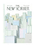 The New Yorker Cover - April 2, 1966 Regular Giclee Print by Anatol Kovarsky