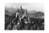 Neuschwanstein Castle before 1945 Photographic Print by  SZ Photo