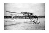 Modell des Zaschka-Rotationsflugzeuges in Berlin-Tempelhof, 1928 Photographic Print by  Scherl