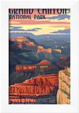 Grand Canyon National Park - Mather Point Art by  Lantern Press
