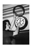 Daylight Saving Time Changeover in Italy, 1940 Photographic Print by  Scherl