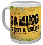 Gaming - Not A Crime Mug Tazza
