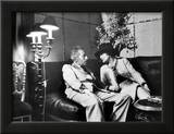 Jean Cocteau and Coco Chanel Framed Photographic Print by Luc Fournol