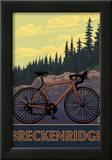 Breckenridge, Colorado - Mountain Bike Print by  Lantern Press