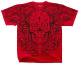 Fantasy - Calavera Keyhole T-shirts
