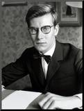 Yves Saint Laurent, July 1960 Mounted Photo by Luc Fournol