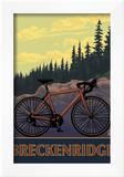 Breckenridge, Colorado - Mountain Bike Prints by  Lantern Press