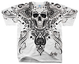 Fantasy - Spade Skull T-shirts