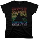 Juniors: Pink Floyd - Dark Side Tracks - T shirt