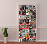 Life Magazine Covers Door Wallpaper Mural Veggoverføringsbilde