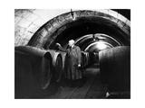 Weinverkoster in Saumur in Frankreich, 1937 Photographic Print by  Süddeutsche Zeitung Photo