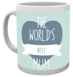 Mother's Day - World's Best Mum Mug Taza