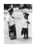 Kinder in Indochina, 1933 Photographic Print by  Süddeutsche Zeitung Photo