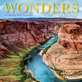 Wonders of the World - 2016 Mini Calendar Calendars