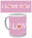 Valentines - I Love You Mug Mugg